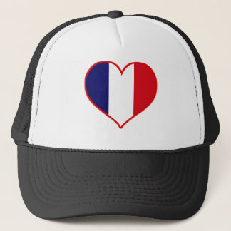 France Love Trucker Hat