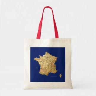 France Map Bag