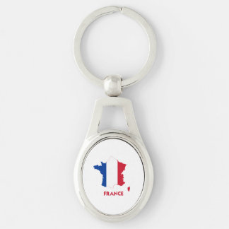 FRANCE MAP KEYCHAINS