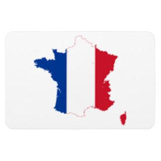FRANCE MAP RECTANGLE MAGNET