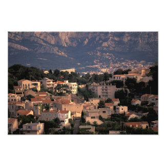 France, Marseille, Provence. Southern suburbs Photo Print