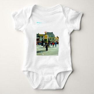 France, meet the Flanders giants Baby Bodysuit
