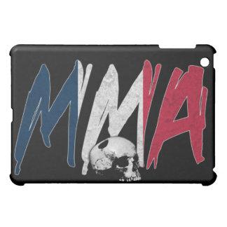 France MMA Skull Black iPad Case