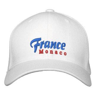 France, MOnaco Custom Hat Embroidered Baseball Caps