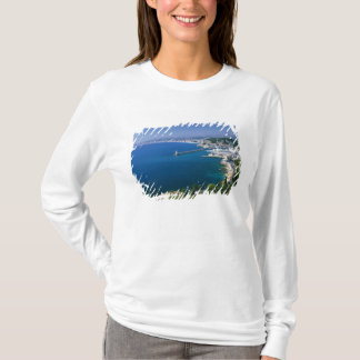 France, Nice, aerial view of the port T-Shirt