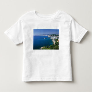 France, Nice, aerial view of the port Toddler T-Shirt