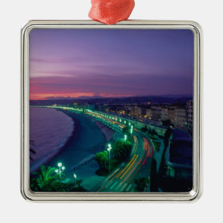 France, Nice. Christmas Ornament