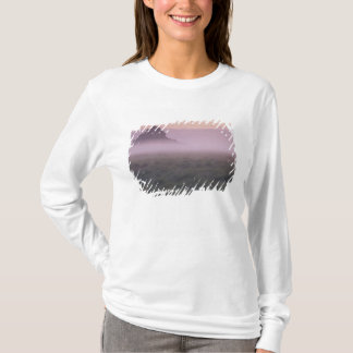 FRANCE, Normandy Mont St. Michel. Morning Mist T-Shirt