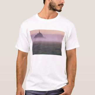 FRANCE, Normandy Mont St. Michel. Morning Mist T-Shirt