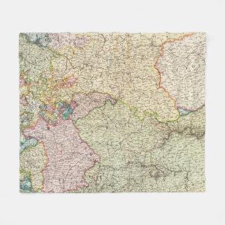 France Northeast Fleece Blanket