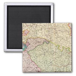 France Northeast Square Magnet