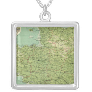 France northwestern section, environs of Paris Silver Plated Necklace