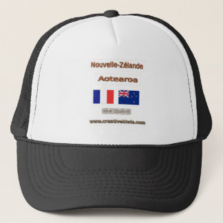 France, Nouvelle-Zélande Trucker Hat