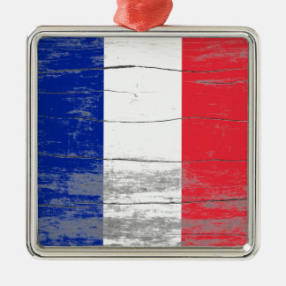 France Old Paint Christmas Ornament