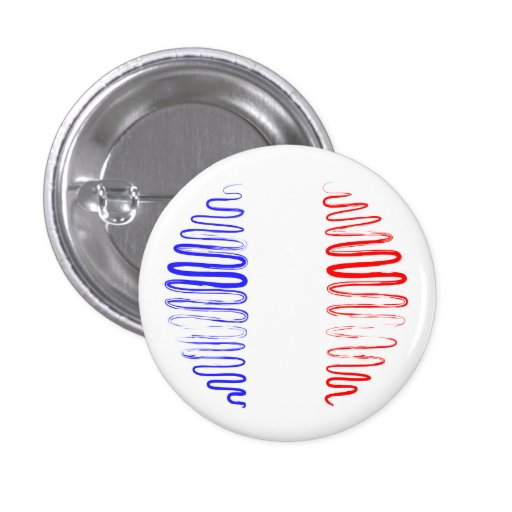 France on White Button