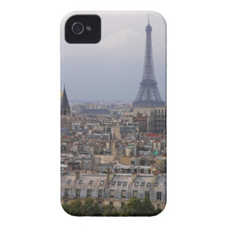 France, Paris, cityscape with Eiffel Tower iPhone 4 Case-Mate Cases
