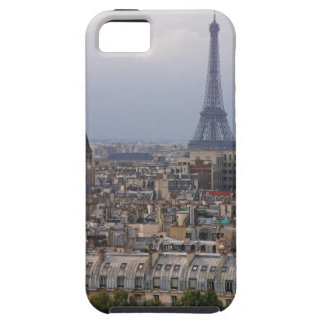 France, Paris, cityscape with Eiffel Tower iPhone 5 Cases