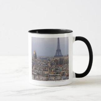 France, Paris, cityscape with Eiffel Tower Mug