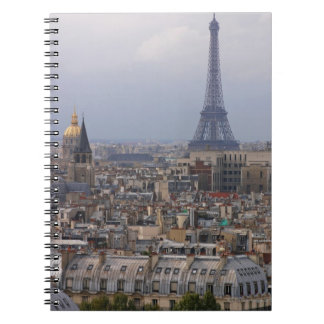 France, Paris, cityscape with Eiffel Tower Notebooks