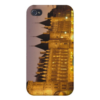 France, Paris, Conciergerie and river Seine at iPhone 4 Cases