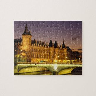 France, Paris, Conciergerie and river Seine at Jigsaw Puzzle
