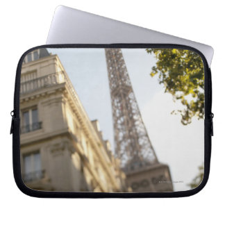 France, Paris, Eiffel Tower 2 Laptop Sleeve
