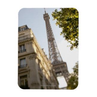 France, Paris, Eiffel Tower 2 Rectangular Photo Magnet