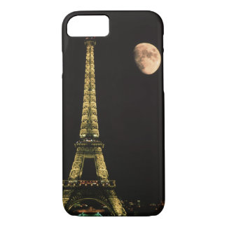 France, Paris. Eiffel Tower at night iPhone 8/7 Case