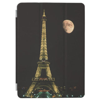 France, Paris. Eiffel Tower at night with iPad Air Cover