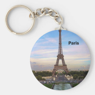 France Paris Eiffel Tower (by St.K) Key Ring