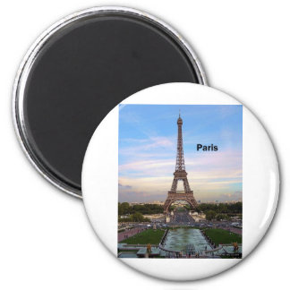 France Paris Eiffel Tower (by St.K) Magnet