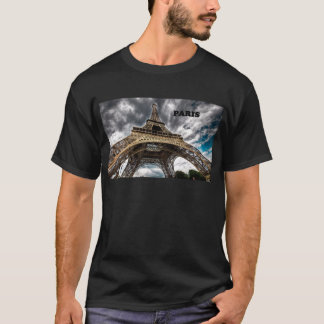 France Paris Eiffel Tower (by St.K) T-Shirt