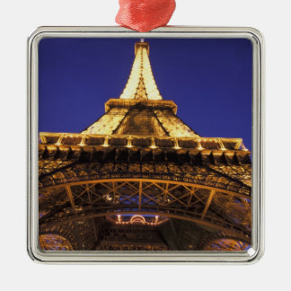 FRANCE, Paris Eiffel Tower, evening view Christmas Ornament