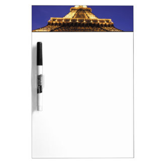 FRANCE, Paris Eiffel Tower, evening view Dry Erase Board