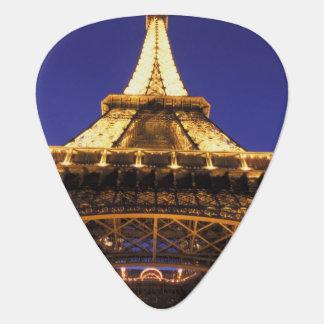 FRANCE, Paris Eiffel Tower, evening view Guitar Pick
