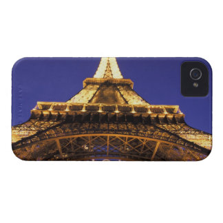FRANCE, Paris Eiffel Tower, evening view iPhone 4 Case