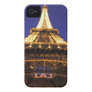 FRANCE, Paris Eiffel Tower, evening view iPhone 4 Cover