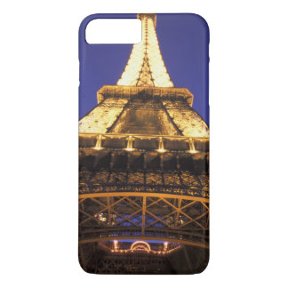 FRANCE, Paris Eiffel Tower, evening view iPhone 8 Plus/7 Plus Case