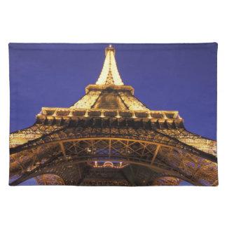 FRANCE, Paris Eiffel Tower, evening view Placemat