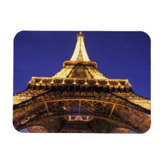 FRANCE, Paris Eiffel Tower, evening view Rectangular Photo Magnet