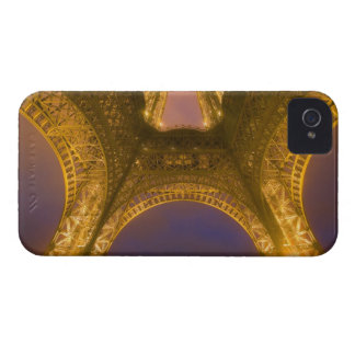 France, Paris. Eiffel Tower illuminated at 2 iPhone 4 Case