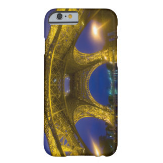 France, Paris. Eiffel Tower illuminated at Barely There iPhone 6 Case