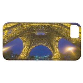 France, Paris. Eiffel Tower illuminated at Case For The iPhone 5