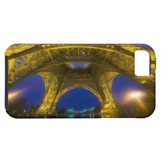 France, Paris. Eiffel Tower illuminated at iPhone 5 Covers