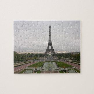 France, Paris, Eiffel Tower Jigsaw Puzzle