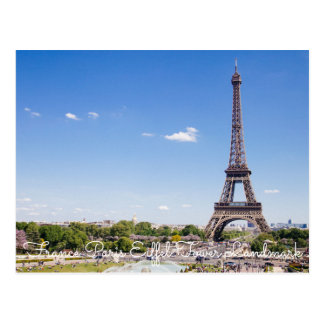 France Paris Eiffel Tower Landm Skylines Postcards