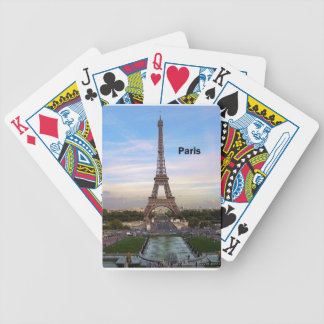 France Paris Eiffel  tower (new) (St.K) Bicycle Playing Cards