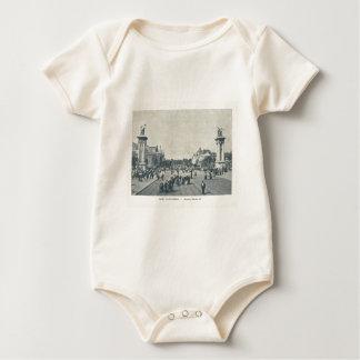 France, Paris Expo 1900 Baby Bodysuit