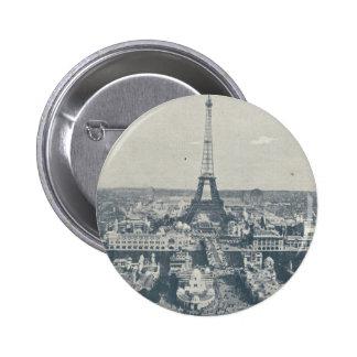 France, Paris, Expo 1900 Pinback Button