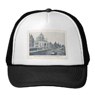 France, Paris Expo 1900 Trucker Hat